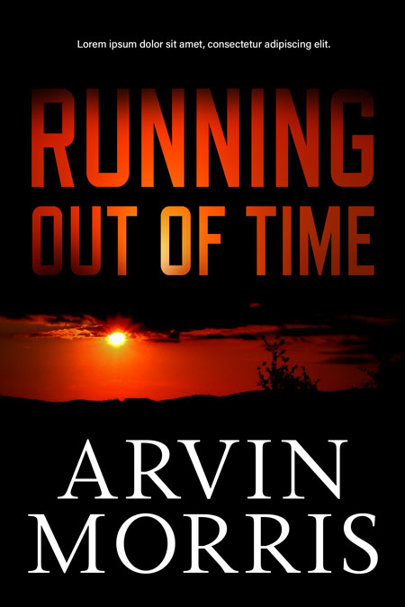Running Out of Time - Mystery / Suspense / Thriller Premade Book Cover For Sale @ Beetiful Book Covers