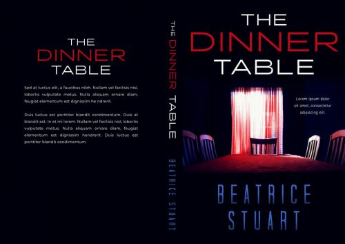 The Dinner Table - Mystery / Suspense / Thriller Premade Book Cover For Sale @ Beetiful Book Covers