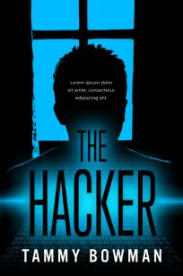 The Hacker - Techno-Thriller / Science-Fiction Premade Book Cover For Sale @ Beetiful Book Covers