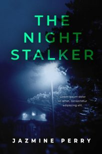 The Night Stalker - Mystery / Suspense / Thriller Premade Book Cover For Sale @ Beetiful Book Covers
