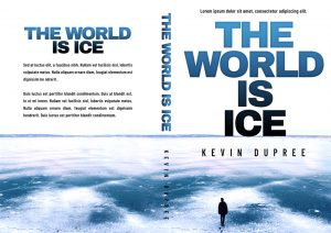 The World Is Ice - Mystery / Suspense / Thriller Premade Book Cover For Sale @ Beetiful Book Covers