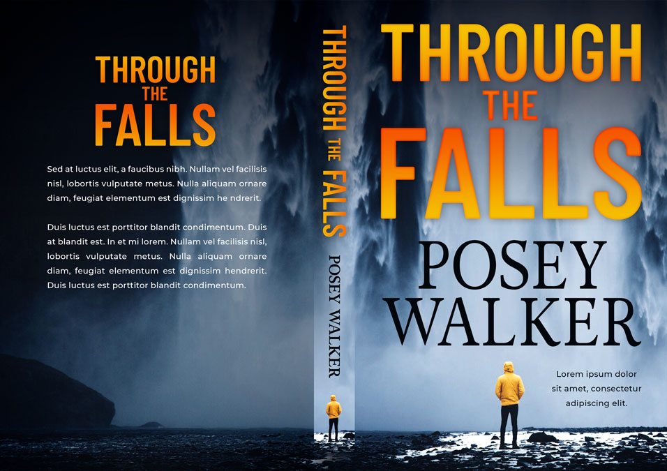 Through the Falls - Mystery / Suspense / Thriller Premade Book Cover For Sale @ Beetiful Book Covers