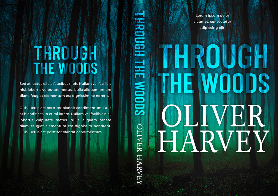 Through the Woods - Mystery / Suspense / Thriller Premade Book Cover For Sale @ Beetiful Book Covers