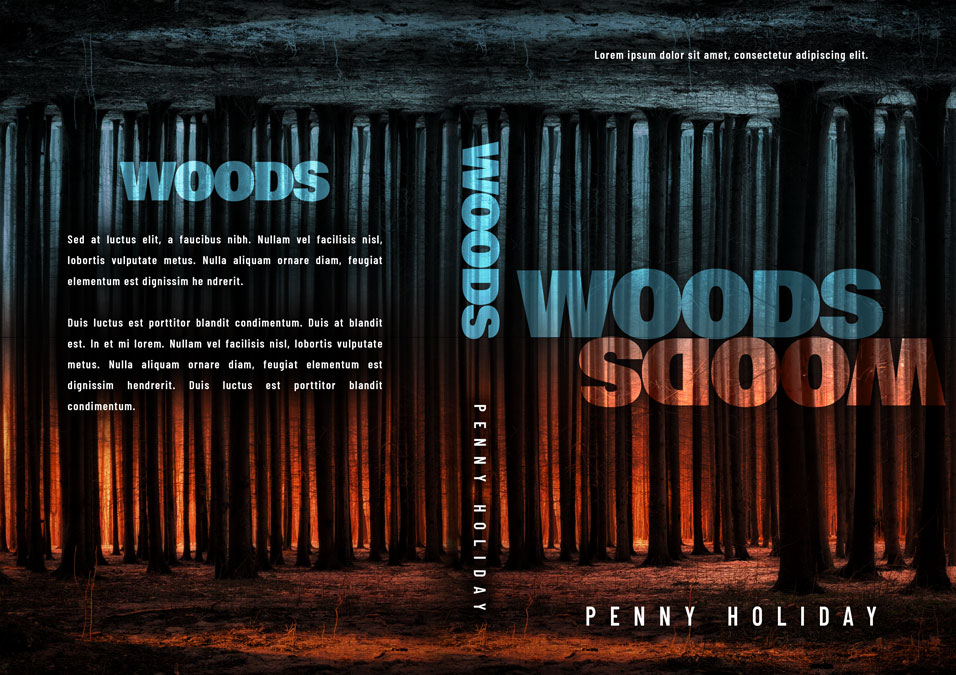 Woods - Mystery / Suspense / Thriller Premade Book Cover For Sale @ Beetiful Book Covers