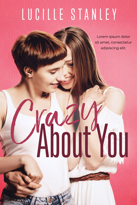 Crazy About You - LGBT Romance Premade Book Cover For Sale @ Beetiful Book Covers