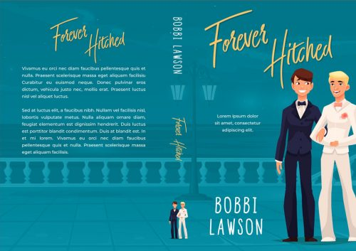 Forever Hitched - Gay Romance Premade Book Cover For Sale @ Beetiful Book Covers