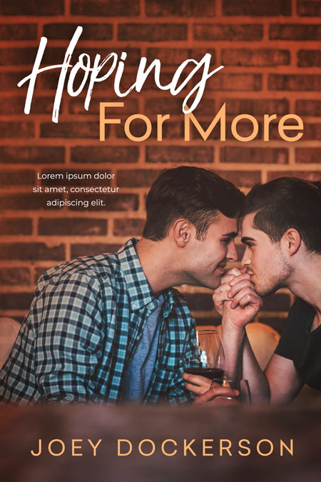 Hoping For More - Gay Romance Premade Book Cover For Sale @ Beetiful Book Covers