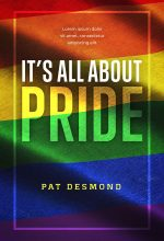 It's All About Pride – LGBT / GLBT Nonfiction Premade Book Cover For Sale @ Beetiful Book Covers