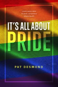 It's All About Pride - LGBT / GLBT Nonfiction Premade Book Cover For Sale @ Beetiful Book Covers