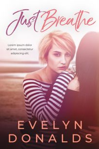 Just Breathe - Lesbian Contemporary Romance Premade Book Cover For Sale @ Beetiful Book Covers