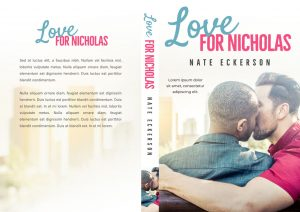 Love For Nicholas - Gay Interracial Contemporary Romance Premade Book Cover For Sale @ Beetiful Book Covers