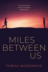Miles Between Us - Gay Young Adult Romance Premade Book Cover For Sale @ Beetiful Book Covers