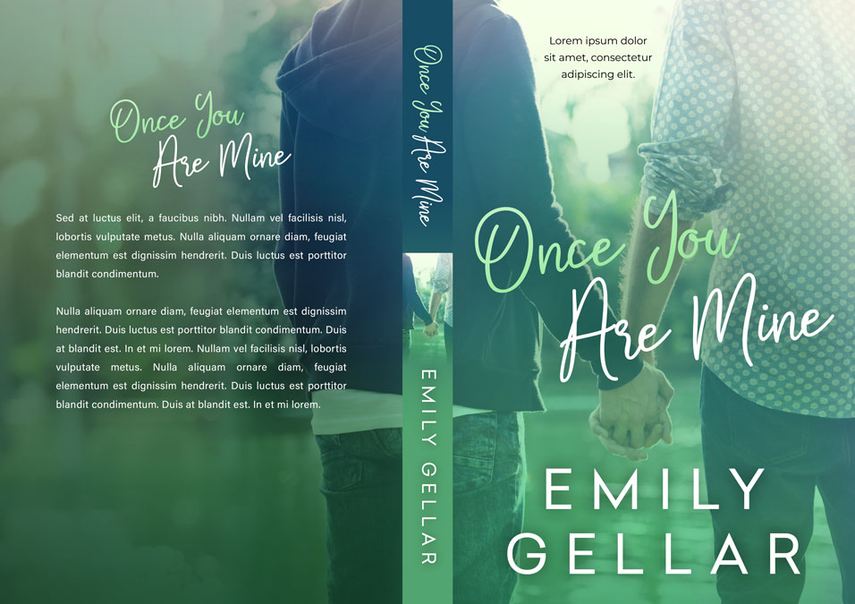 Once You Are Mine - Gay Contemporary Romance Premade Book Cover For Sale @ Beetiful Book Covers