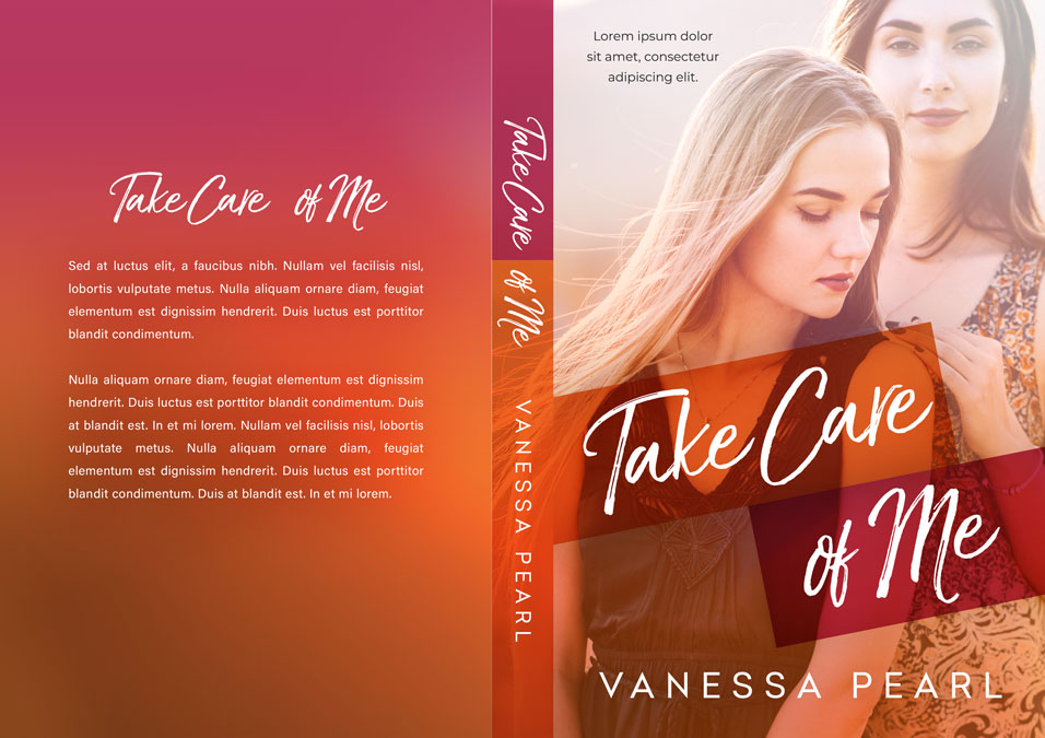 Take Care of Me - Lesbian Contemporary Romance Premade Book Cover For Sale @ Beetiful Book Covers
