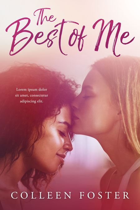 The Best of Me - Lesbian Interracial Contemporary Romance Premade Book Cover For Sale @ Beetiful Book Covers