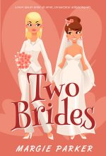 Two Brides – Lesbian Contemporary Romance Premade Book Cover For Sale @ Beetiful Book Covers