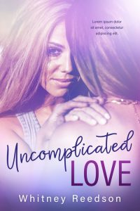 Uncomplicated Love - Lesbian Contemporary Romance Premade Book Cover For Sale @ Beetiful Book Covers