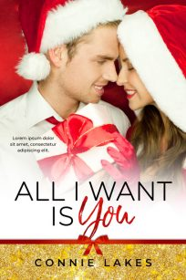 All I Want Is You - Christmas Romance Premade Book Cover For Sale @ Beetiful Book Covers