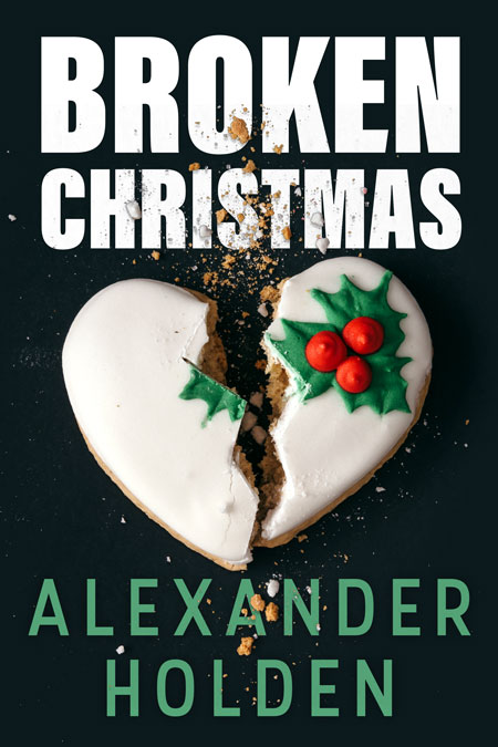 Broken Christmas - Christmas Cozy Mystery Premade Book Cover For Sale @ Beetiful Book Covers