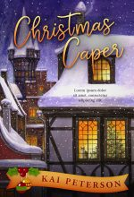Christmas Caper – Christmas Cozy Mystery Premade Book Cover For Sale @ Beetiful Book Covers