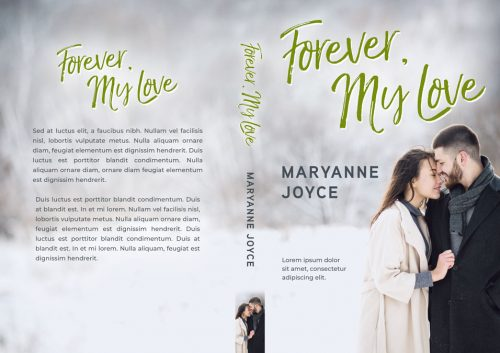 Forever, My Love - Winter Romance Premade Book Cover For Sale @ Beetiful Book Covers