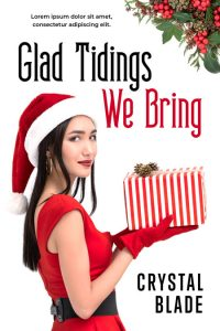 Glad Tidings We Bring - Christmas Premade Book Cover For Sale @ Beetiful Book Covers
