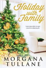Holiday With Family – Christmas Fiction Premade Book Cover For Sale @ Beetiful Book Covers