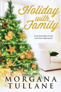 Holiday With Family - Christmas Fiction Premade Book Cover For Sale @ Beetiful Book Covers