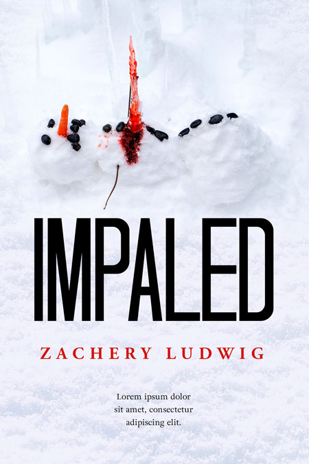 Impaled - Winter Thriller Premade Book Cover For Sale @ Beetiful Book Covers