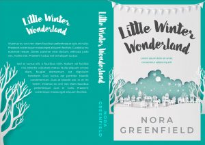 Little Winter Wonderland - Christmas Premade Book Cover For Sale @ Beetiful Book Covers