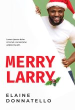 Merry Larry – African-American Christmas Premade Book Cover For Sale @ Beetiful Book Covers