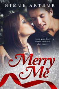 Merry Me - Christmas Romance Premade Book Cover For Sale @ Beetiful Book Covers