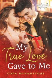 My True Love Gave To Me - Young Adult Christmas Romance Premade Book Cover For Sale @ Beetiful Book Covers
