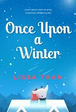 Once Upon a Winter – Illustrated Winter Romance Premade Book Cover For Sale @ Beetiful Book Covers