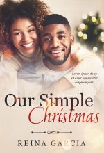 Our Simple Christmas – African-American Christmas Romance Premade Book Cover For Sale @ Beetiful Book Covers