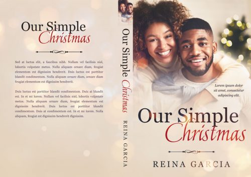Our Simple Christmas - African-American Christmas Romance Premade Book Cover For Sale @ Beetiful Book Covers