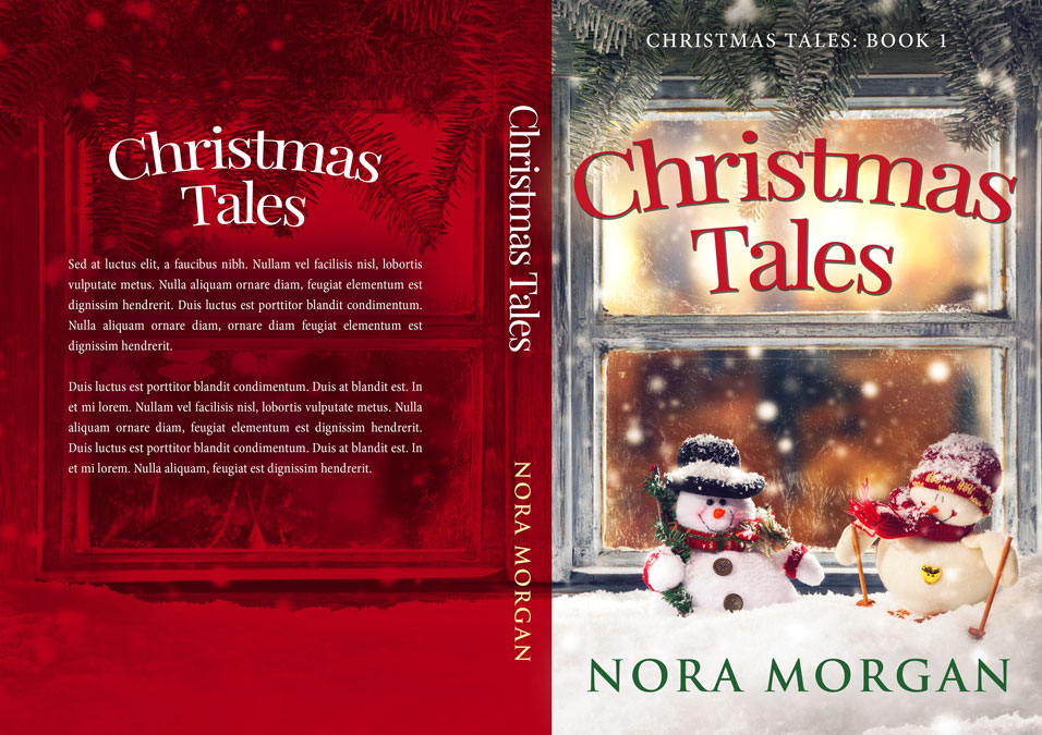 Series: Christmas Tales - Christmas Series Premade Book Covers For Sale - Beetiful