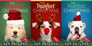 Series: The Pawfect Christmas - Christmas Series Premade Book Covers For Sale - Beetiful