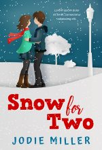 Snow For Two – Illustrated Winter Romance Premade Book Cover For Sale @ Beetiful Book Covers