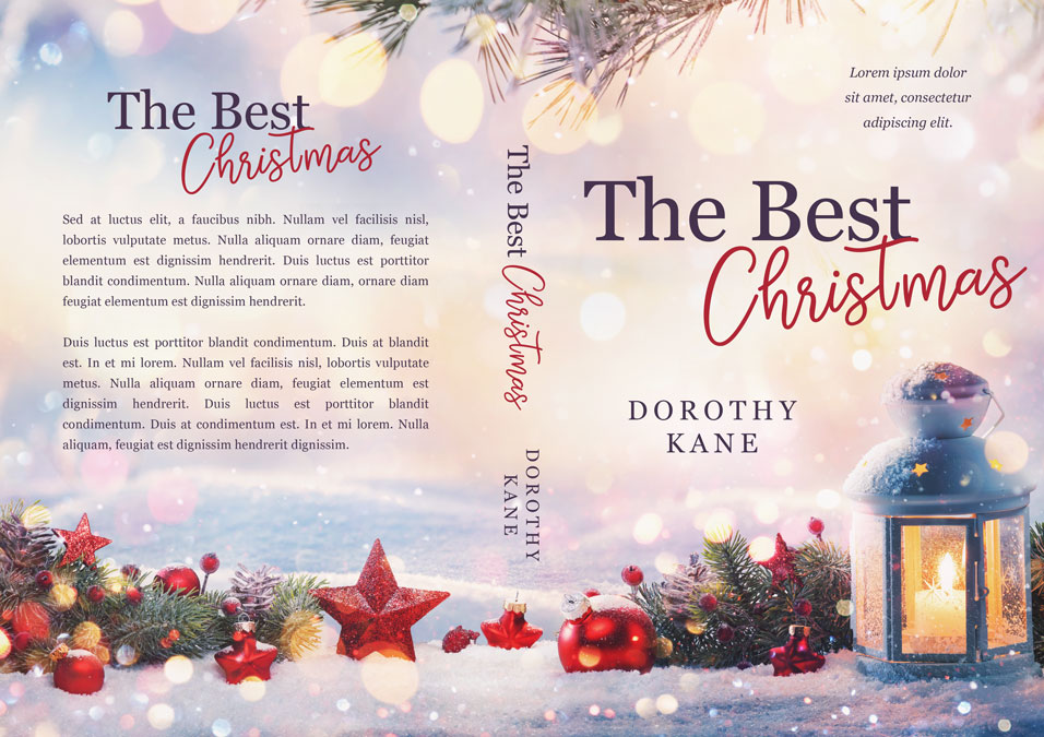 The Best Christmas - Christmas Fiction Premade Book Cover For Sale @ Beetiful Book Covers
