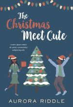 The Christmas Meet Cute – Illustrated Christmas African-American Romance Premade Book Cover For Sale @ Beetiful Book Covers