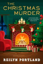 The Christmas Murder – Christmas Cozy Mystery Premade Book Cover For Sale @ Beetiful Book Covers