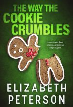 The Way the Cookie Crumbles – Christmas Cozy Mystery Premade Book Cover For Sale @ Beetiful Book Covers
