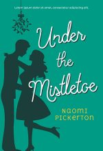 Under the Mistletoe – Illustrated Christmas Romance Premade Book Cover For Sale @ Beetiful Book Covers