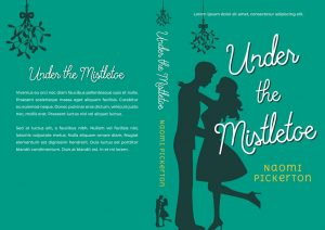 Under the Mistletoe - Illustrated Christmas Romance Premade Book Cover For Sale @ Beetiful Book Covers