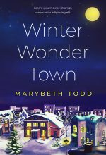 Winter Wonder Town – Christmas Fiction Premade Book Cover For Sale @ Beetiful Book Covers