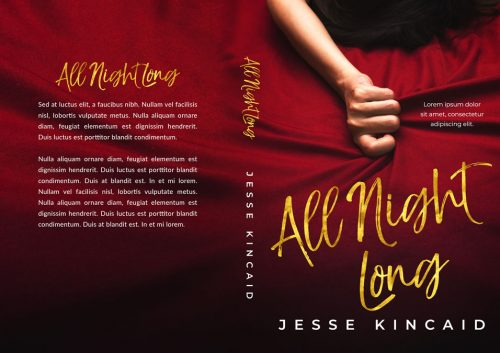 All Night Long - Erotic Romance / Erotica Premade Book Cover For Sale @ Beetiful Book Covers