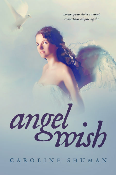 Angel Wish - Fantasy / Angel Premade Book Cover For Sale @ Beetiful Book Covers