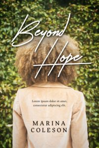 Beyond Hope - African American Women's Fiction Premade Book Cover For Sale @ Beetiful Book Covers