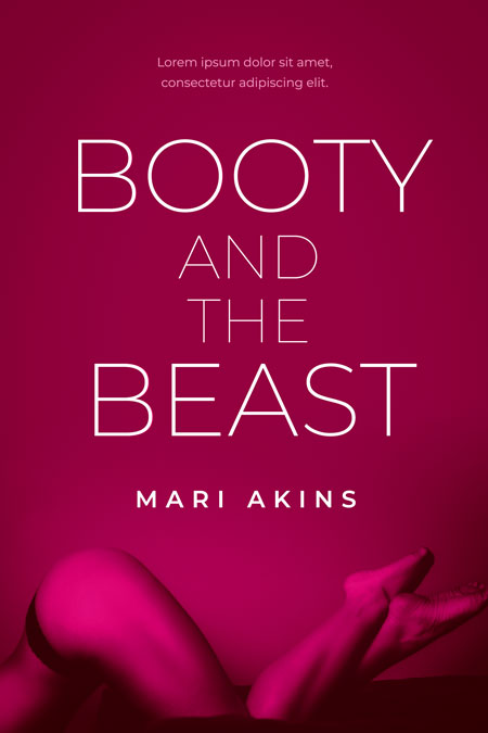 Booty and the Beast - Erotic Romance / Erotica Premade Book Cover For Sale @ Beetiful Book Covers